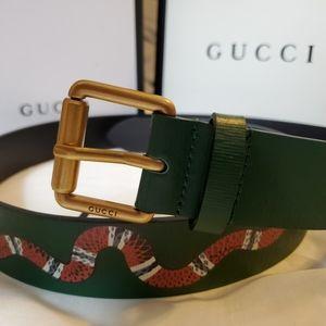 Rare Gucci snake belt